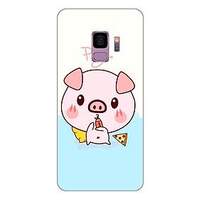Ốp lưng dẻo cho Samsung Galaxy S9_Pig 03