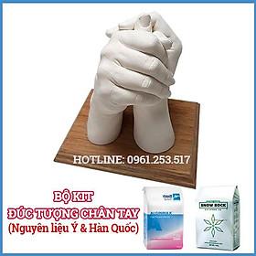 BỘ KIT Đúc tượng chân tay thạch cao - NK Ý & Hàn Quốc