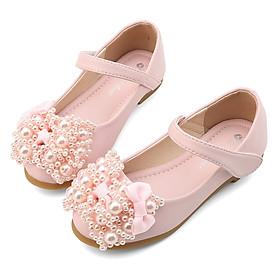 Giày búp bê cho bé gái 3 - 12 tuổi gắn nơ công chúa sang chảnh GE22