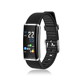 R9 Smart Bracelet 0.96-Inch Color Display Heart Rate Monitor Blood Pressure Blood Oxygen Monitoring Fitness Tracker Life Waterproo