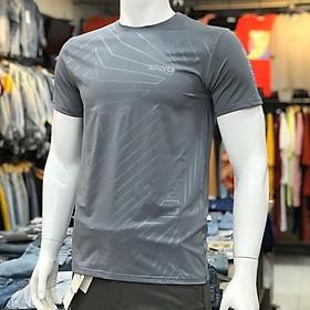 Áo Thể Thao Nam Phối Sọc Phản Quang chìm Trời trang- HATI fashion - D09221