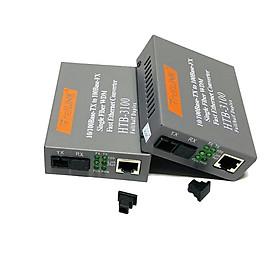 Bộ chuyển đổi quang điện 10/100M Single Fiber Netlink HTB-3100A\B (1 Sợi quang) - Hàng Nhập Khẩu