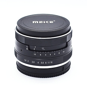 Ống kính Meike 25mm F1.8 cho máy ảnh mirroless Sony, Fuji, Canon lấy nét thủ công- Hàng nhập khẩu