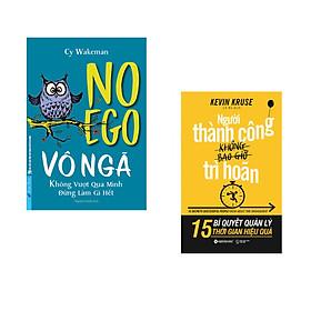 Combo 2 cuốn sách: VÔ NGÃ - không vượt qua mình đừng làm gì hết + Người thành công không bao giờ trì hoãn
