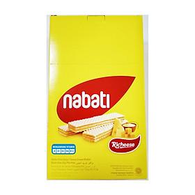 Bánh Xốp Phô Mai Richeese Nabati Cheese Wafer 150g (20x7,5g)
