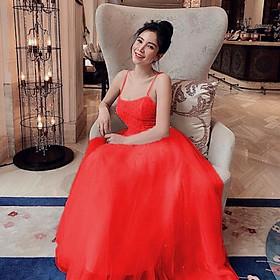 Đầm xoè công chúa 2 dây TRIPBLE T DRESS -Size S/M/L (kèm ảnh/video thật ) MS10Y