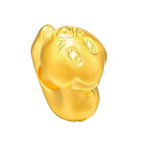 Charm Vàng 24K 12 Con giáp - Tỵ Ancarat - Tặng kèm vòng tay Handmade