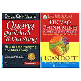 Combo I Can Do It - Tin Vào Chính Mình + Quẳng Gánh Lo Đi Và Vui Sống (2 Cuốn)