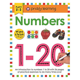 Numbers 1-20 : Wipe Clean Workbooks