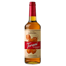 Sirô Torani PureMade Caramel Muối - Caramel Salted Syrup 750ml