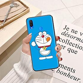 Ốp lưng điện thoại Huawei Nova 3i viền silicon dẻo TPU  hình Doremon Nhảy Múa - Hàng chính hãng