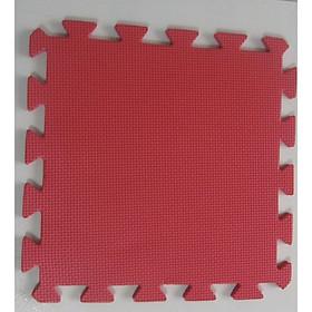Thảm Cho Trẻ Thơ Trơn 60cmx60cm màu đỏ