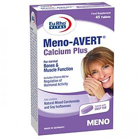 Thực phẩm chức năng EuRho Vital Meno AVERT Calcium Plus