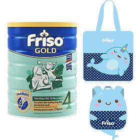 Sữa Bột Friso Gold 4 Cho Trẻ Từ 2-4 Tuổi 1.5kg + Tặng Bộ Túi Cho Mẹ & Bé