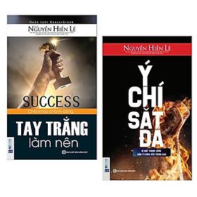 Combo 2 cuốn sách kĩ năng sống: Tay Trắng Làm Nên + Ý Chí Sắt Đá