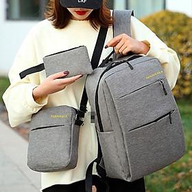 Set Ba lô, túi, ví thời trang cao cấp BACKPACK 083 - Chính Hãng Phân Phối