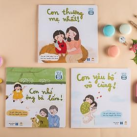 Dòng sách Cả Nhà Cùng Đọc To - Bộ Gia đình Bé Bỏng - Sách thơ cho bé 1 - 6 tuổi