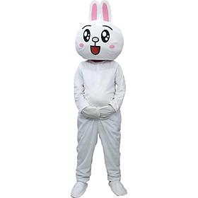 Mascot Thỏ Cony mắt to tròn dễ thương