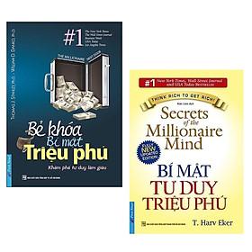 Combo Sách Kỹ Năng Hay: Bẻ Khóa Bí Mật Triệu Phú (Tái Bản) + Bí Mật Tư Duy Triệu Phú (Tái Bản)