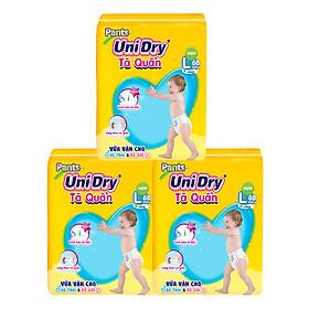 Combo 3 Tã Quần Unidry Ultra Jumbo L68 (68 Miếng)