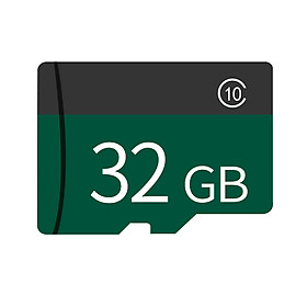 Memory Card 8GB/16GB/32GB/64GB/128GB Large Capacity Class 10 TF Card Flash TF Card Data Storage High Speed for Green 32G