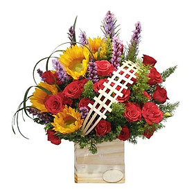 Hộp hoa tươi - Nét Xuân 3334