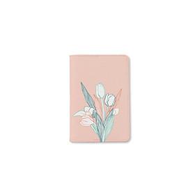 Bao da hộ chiếu - Hoa Tulip 1 - INK-672-001-PH-NCS