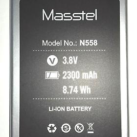 Pin cho điện thoại Masstel N558 - Hàng nhập khẩu