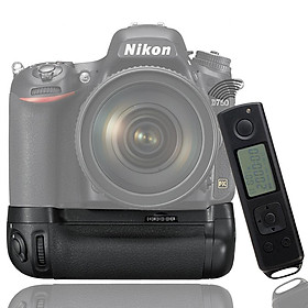 MK-DR750 Battery Grip Pack Replacement for Nikon D750 DSLR Camera