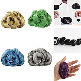 Slime Diy Magnetic Polymer Clay Putty Intelligent Rubber Magnet Clay