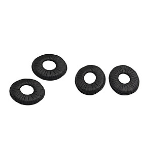 2Pairs Replacement Ear Pads Cushions For SONY MDR-ZX110 Headphone Black