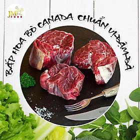 [Chỉ giao Q2, Q9, Thủ Đức] - Bắp bò hoa Canada cắt 3 cm - 1 kg