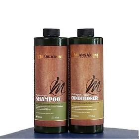 Bộ dầu gội xả phục hồi siêu mượt tóc Masaroni Rich Biotin Collagen repair Shampoo & Conditioner 800ml-2