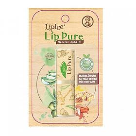 Son Dưỡng Chiết Xuất Thiên Nhiên Lipice Lip Pure Không Mùi (4g)