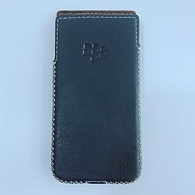 Bao da cho điện thoại Blackberry KeyOne - Hàng nhập khẩu