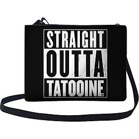 Túi Đeo Chéo Nữ In Hình Straight Outta Tatooine - TUTE131 (24 x 17 cm)