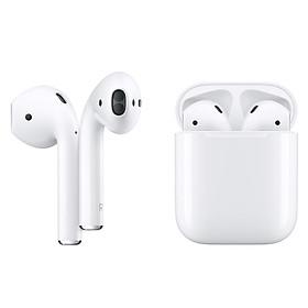 Tai Nghe Bluetooth Apple AirPods 2 True Wireless - MV7N2 - Nhập Khẩu Chính Hãng - Hộp Sạc Thường