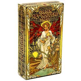 Bộ Golden Art Nouveau Tarot Bài Bói New