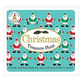 Christmas Treasure Hunt: Baby Treasure Hunts - Baby Treasure Hunts (Board book)