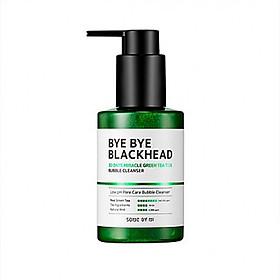 Sữa Rửa Mặt Sủi Bọt Giảm Mụn Đầu Đen Some By Mi Bye Bye Blackhead 30 Days Miracle Green Tea Tox Bubble Cleanser