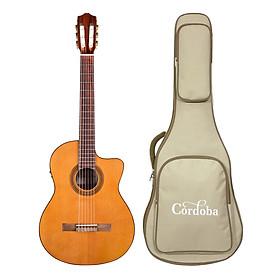 Đàn Guitar Classic Cordoba C5-CE - Thương hiệu Tây Ban Nha, phân phối Chính Hãng - Kèm Bao Cứng Cordoba Dày 5 Lớp