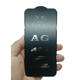 Kính cường lực full nhám chống bám vân tay dành cho các dòng Iphone