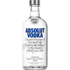Rượu Vodka Absolut 700ml 40% - Không Kèm Hộp