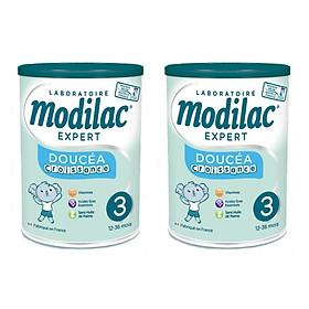 Lốc 2 Hộp Sữa Bột Modilac Doucea croissance 3 (800g)