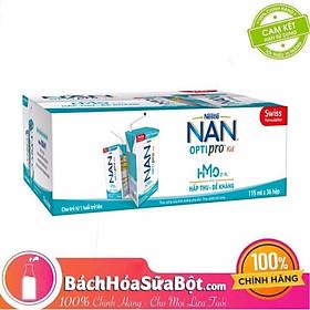 Thùng 36 Hộp Nestlé NAN OPTIPRO Kid Hộp Pha Sẵn (36x115ml)