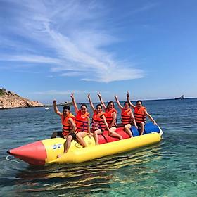 Tour Nha Trang 01 Ngày Bằng Cano: Du Ngoạn Vịnh - Đảo Robinson - Tiệc Nổi Trên Biển, Khởi Hành Hàng Ngày