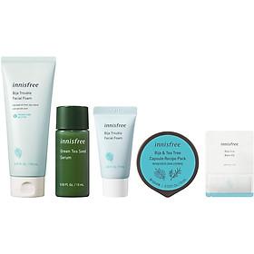 Bộ sản phẩm dưỡng da và cấp ẩm dành cho da mụn Innisfree Bija - 278002194