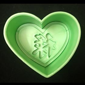 Khuôn xôi tim chữ Lộc