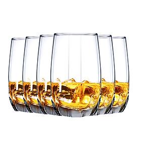 Bộ Cốc Thủy Tinh Uống Rượu Whiskey OCEAN (415ml) (6 Cái)