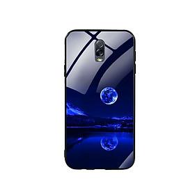 Ốp Lưng Kính Cường Lực cho điện thoại Samsung Galaxy J7 Plus - 0269 MOON02